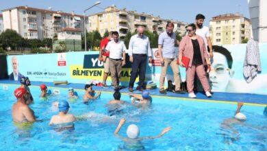 Derincede yüzme bilmeyen çocuk kalmayacak